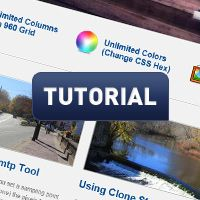 design and develop a complete website (photoshop to dreamweaver) on tuts+