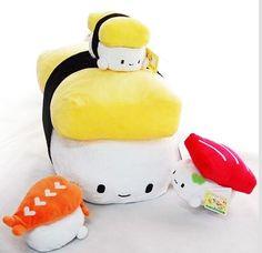 Sushi Pillow | Plush Cushion