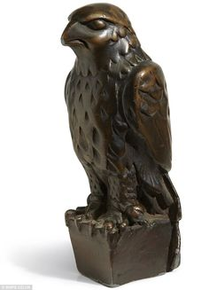 Priceless: The worthless fake from the Bogart classic The Maltese Falcon is now expected to fetch $1.5 million at auction in November