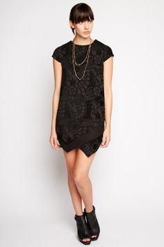 Caelum Asymmetrical Dress by Line and Dot
