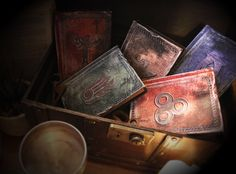 Set of 5 Skyrim Replica Spell Tome by alarmeighteen on Etsy, £65.00