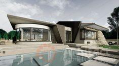 Casa parter 29 | Proiecte de case personalizate | Arhitect Gabriel Georgescu & Echipa Home Fashion, House Plans, Mansions, House Styles, Outdoor Decor, Houses, Home Decor, House Beautiful, Modern Townhouse