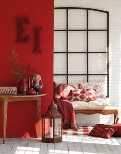rojo, ocre tierra colores tendencia