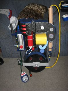 The Real Ghostbusters Proton Pack Completed proton pack Ghostbusters Proton Pack, Ghostbusters Toys, The Real Ghostbusters, Cool Nerf Guns, Children Images, Packing, Cool Stuff, Paranormal, Evergreen