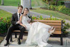 Kelly Kade Photography; Bridal Gown: Bacio Bacio Bridal; Makeup: Angelique Garcia