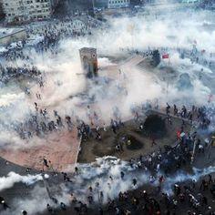 Istanbul: Gewalt im Gezi-Park