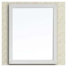 Found it at Wayfair - Contemporary Solid Wood Frame Mirror
