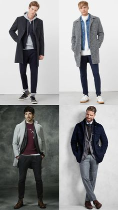 Men's Autumn/Winter Layering Outfit Inspiration Lookbook