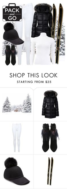 """""""Winter Pack And Go! ⛄❄⛄"""" by varazarana ❤ liked on Polyvore featuring Lands' End, Miss Selfridge, House of Lafayette and Michael Kors"""