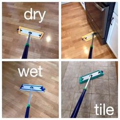 The different Norwex mop pads!