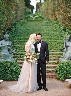 The Sweetest Spanish Wedding We've Ever Seen Bride Groom, Wedding Bride, Wedding Gowns, Dream Wedding, Modest Wedding Dresses With Sleeves, Lake Como Wedding, Spanish Wedding, Romantic Photos, Couple Pictures