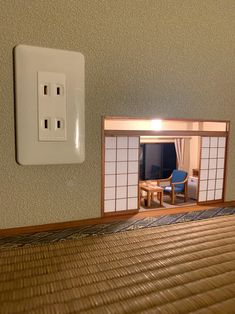 japanese mozu studios creates impressive tiny rooms full of details Miniature Rooms, Miniature Crafts, Miniature Houses, Diy Dollhouse, Dollhouse Miniatures, Deco Originale, Tiny World, Fairy Doors, Book Nooks