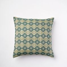 Allover Brocade Pillow Cover | west elm