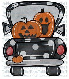Halloween Door Hangers, Halloween Signs, Halloween Cards, Halloween Pumpkins, Fall Halloween, Halloween Phrases, Halloween Cookies, Vintage Clip Art, Clipart Vintage