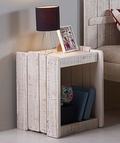 Another great find on #zulily! Rustic Sand Tree House Nightstand #zulilyfinds