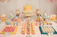 festa circo tons pastel - Google Search