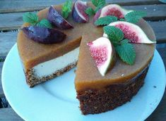 Ricottový dort s ovocem