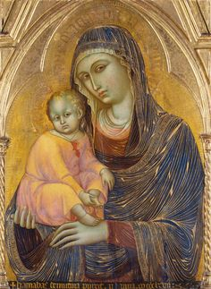 Madonna and Child, (Barnaba da Modena) Städel Museum, Frankfurt Religious Icons, Religious Art, Städel Museum, Google Art Project, Italian Paintings, Blessed Mother Mary, Byzantine Art, Renaissance Paintings, Madonna And Child
