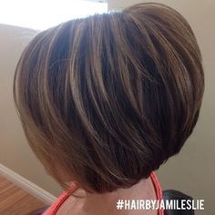 Side View of Layered Short Haircut