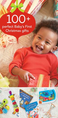 100+ Perfect Baby's First Christmas Gifts - Take the guesswork out of giving with this handpicked collection of gifts, matched to every age and stage of baby's first year. Carefully chosen by our baby experts, these top-rated keepsakes, toys, activities, outfits and on-the-go gear items really add to the First Christmas festivities and give you, your family and friends plenty of options to unwrap the magic of the season. #BRUChristmas