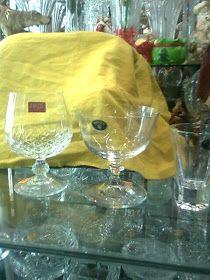 COPAS Y VASOS PERU: COPAS DE CRISTAL - VENTA Wine Glass, Tableware, Vases, Puertas, Crystals, Dinnerware, Dishes