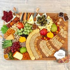 How to make a fabulous Cornucopia Cheese Board with a variety of crunchy snacks shaped like a cornucopia and an enticing selection of fall cheeses, fruits, vegetables, nuts and more for your Thanksgiving gathering Thanksgiving Appetizers, Thanksgiving Recipes, Fall Recipes, Thanksgiving Platter, Thanksgiving Quotes, Thanksgiving Outfit, Thanksgiving Decorations, Chocolate Chip Ice Cream, Chocolate Chip Banana Bread