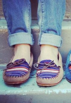 NATIVE AMERICAN MOCCASIN wish-list