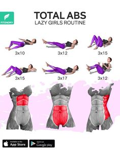 body workout at home toning Total Ab Workout, Full Body Gym Workout, Total Abs, Gym Workout Videos, Gym Workout For Beginners, Workout Days, Fitness Workout For Women, At Home Workout Plan, Fitness Workouts