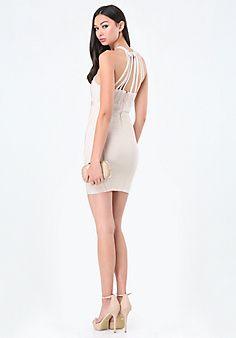 Natalie+Strap+Bandage+Dress