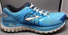 Brooks Glycerin 11 Womens 6.5 Running Shoes Cross Training Lightweight Mesh Blue