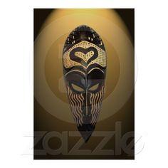 African Love Mask  from www.zazzle.com/stevebrownleeart