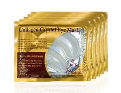 Bestmall®10 pairs New Crystal collagen Powder Gel Collagen Eye Mask Masks Sheet Patch, Anti Ageing Aging, Remove Bags, Dark Circles and Puffiness, Skincare, Anti Wrinkle, Moisturising, Moisture, Hydrating, Uplifting, Whitening, Remove Blemishes and Blackheads Product. Firmer, Smoother, Tone, Regeneration Of Skin. Suitable For Home Use Hot or Cold. ** Read more reviews of the product by visiting the link on the image.