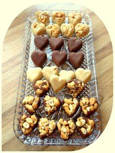 Sunne fløtekarameller og sjokoladekarameller (lindastuhaug)