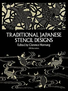 Versatile collection of 276 exquisite Japanese stencil designs — clouds, birds, butterflies, bamboo, plum and cherry blossoms, geometrics, more. Royalty-free illustrations are ideal for modern decorative and graphic needs.