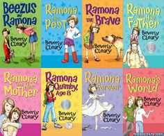 Ramona And Beezus Books.......loved theses as a kid