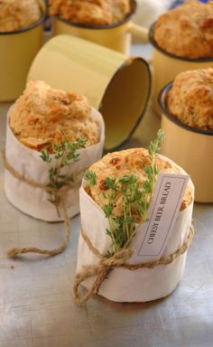 Cheesy Beer Bread recipe. Excellent for Father's Day baking. Or any day baking, really.