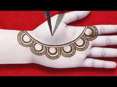 #hennadesignssimple #hennamurah Very Easy Front Hand Mehandi Design Tricks | Holi Special Simple Arabic Henna Design For Hands Arabic Henna Designs, Henna Designs Easy, Mehandi Designs, Holi Special, Hand Henna, Hands, Simple, Jewelry, Jewlery