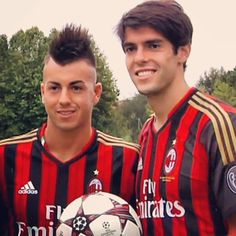 Ac Milan Kaka and El Shaarawy