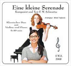 Eine kleine Serenade - SchwarzFerdl, zum download Ecards, Memes, The Last Song, Musik, Black, E Cards, Meme