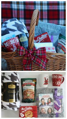 Check out >> Themed present basket roundup - A woman and a glue gun