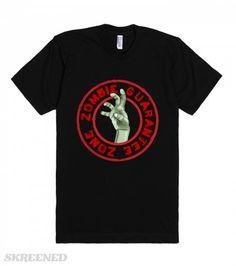 #Zombie Hand | Cool & original Zombie Hand, grunge design. #Skreened