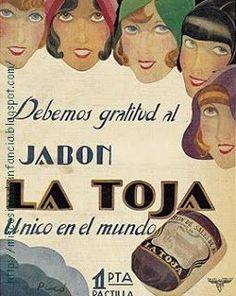 Jabón la Toja, 1 peseta