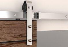 BD-FSS #in acciaio INOX Sus304, finitura in nichel spazzolato, stile moderno, effetto legno per porta scorrevole Hardware-Binario per la stanza, lavanderia, Master Walk-in bagno, ufficio, armadio, imposte, zone massima mobilità