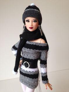 Feito à mão Sui Generis Ensamble Para Barbie Basics, Silkstone, Fashion Royalty, Model Muse | Bonecas e ursinhos, Bonecas, Barbie contemporânea (1973 até o presente) | eBay!