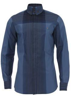 1c155468e1 Gradient Effect Shirt Blue  MAN  SS14 Vivienne Westwood Man