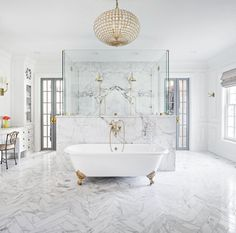 Marble bath retreat
