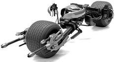 Bat-pod Batman Rises 1:25 Kit Batcycle Batmóvel Tumbler Moto - R$ 119,50