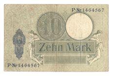 Reichskassenschein 10 Mark 06.10.1906, Reichsmark, Deutschland   eBay Ebay
