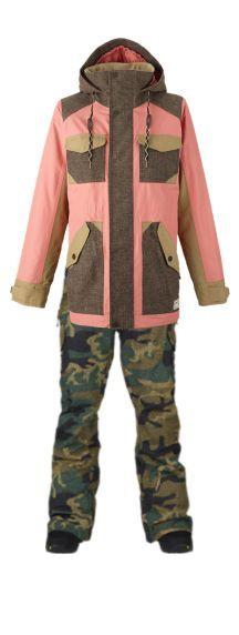 Burton Prestige Snowboard Jacket and the Fly Snowboard Pant