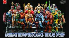 Masters of the Universe (Classics Series) by Mattel